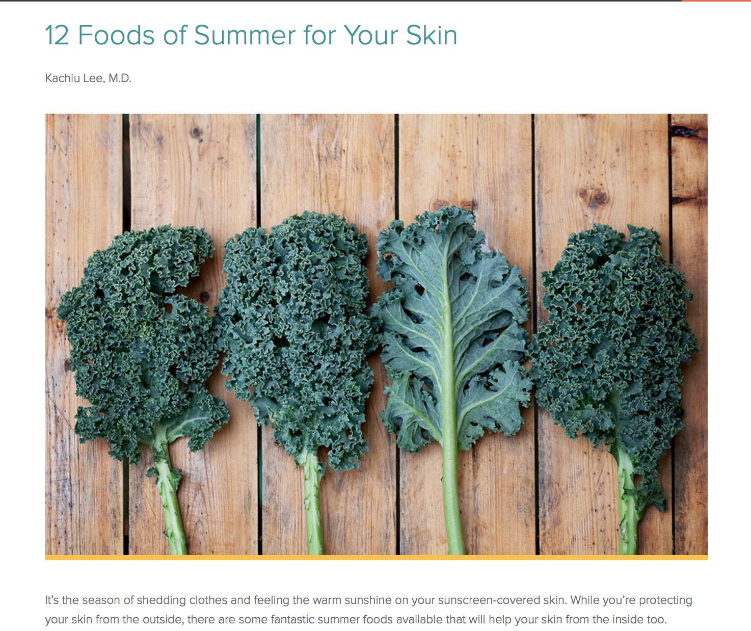 Summer Food tips