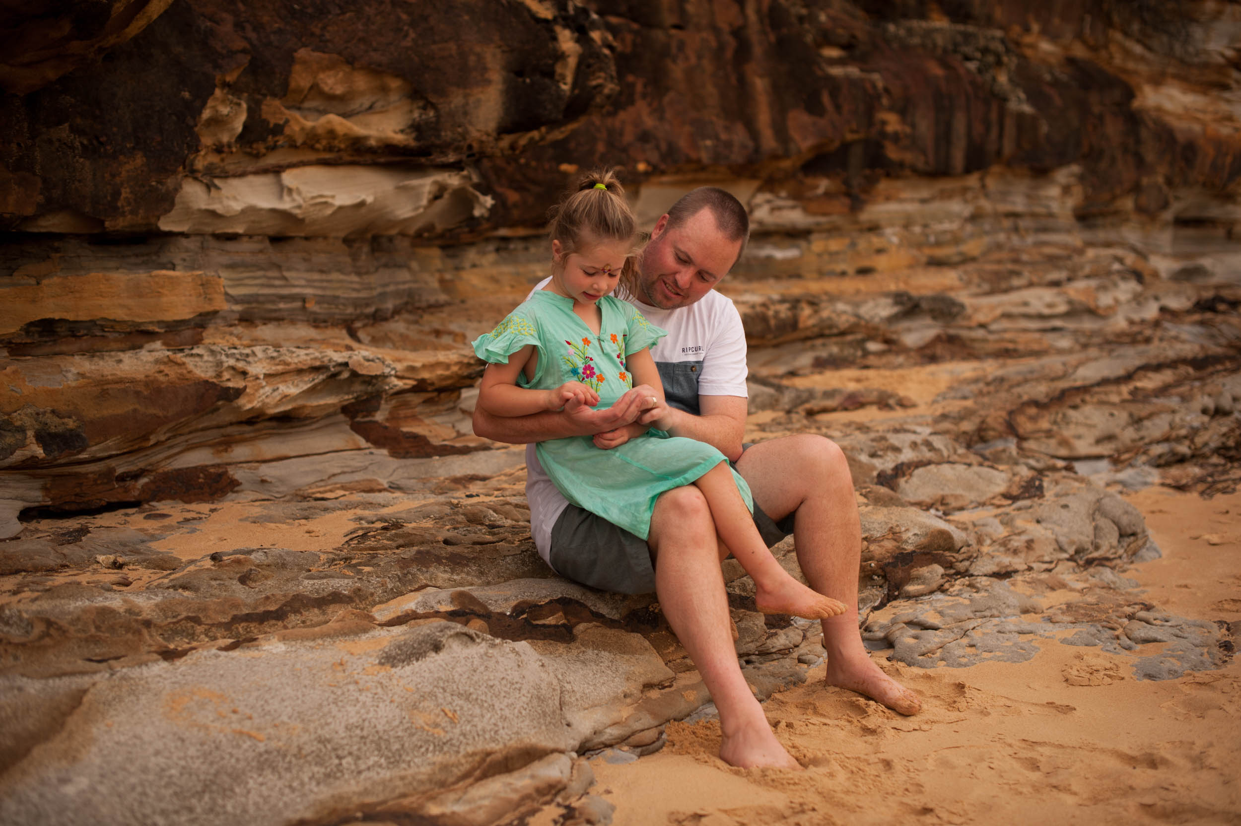 daddy and daughter natural light photography central coast nsw