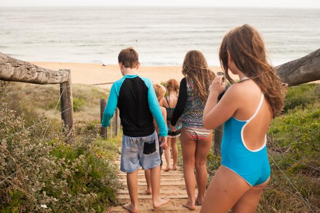 beach family photos shoot copacabana nsw