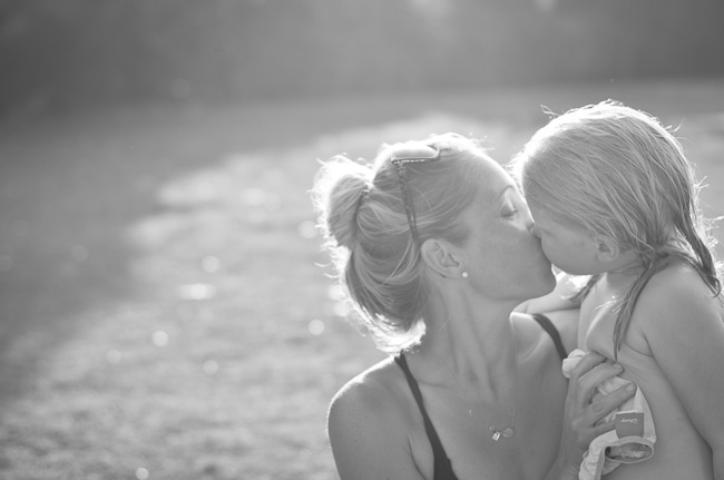 mother and daughter sunset documentary photography session putty beach nsw
