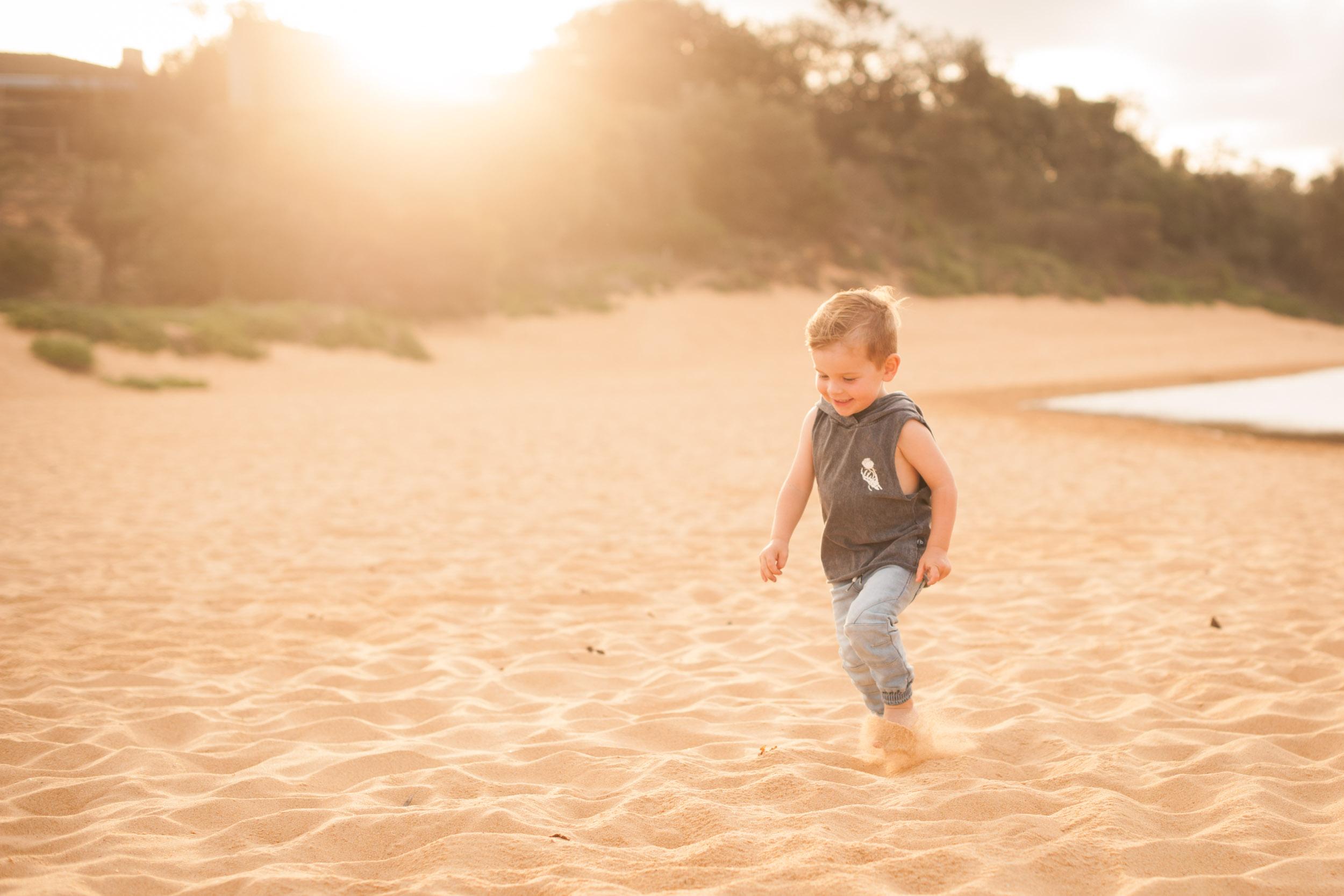 sunset beach photos copacabana nsw