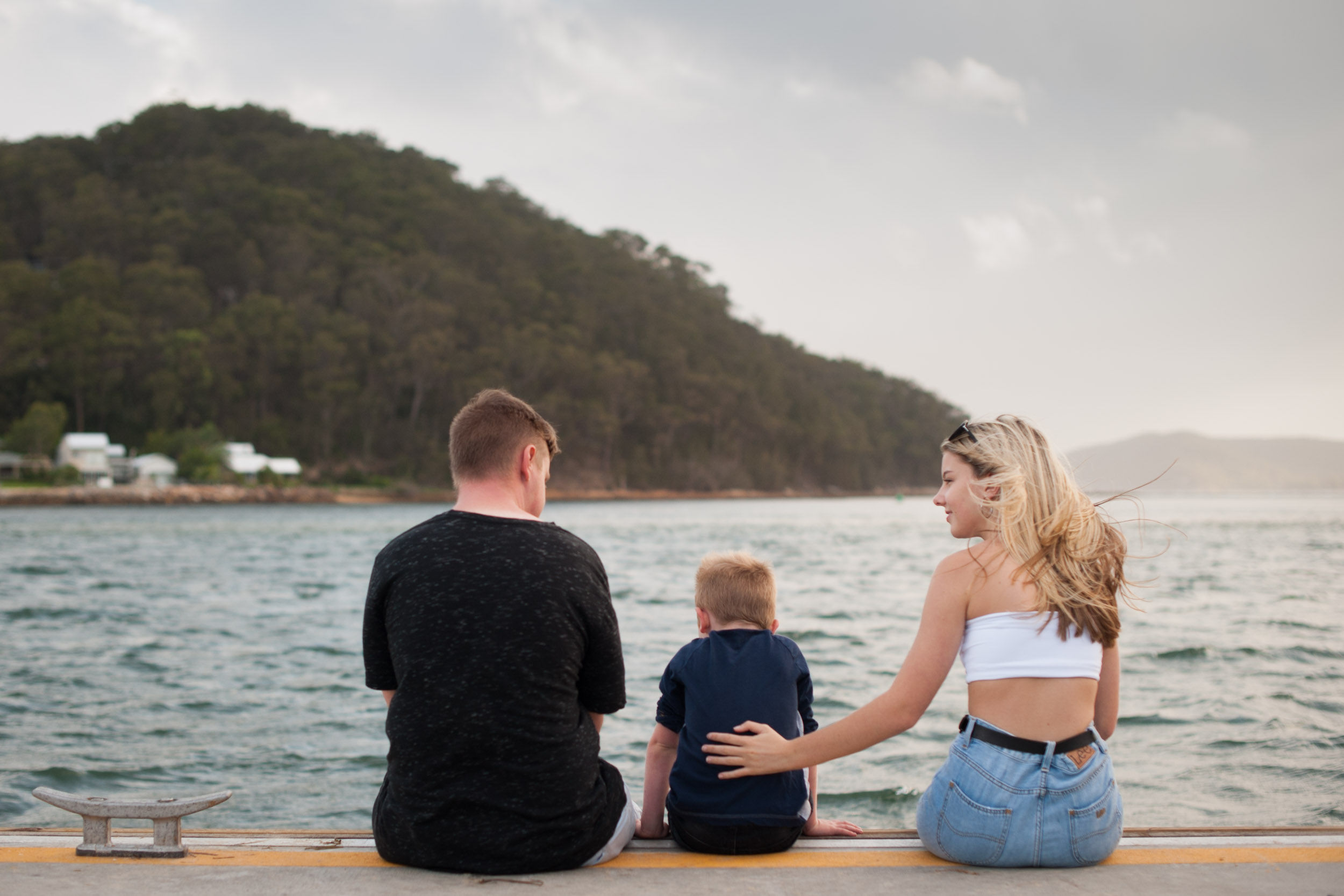 beautiful family photos ettalong nsw