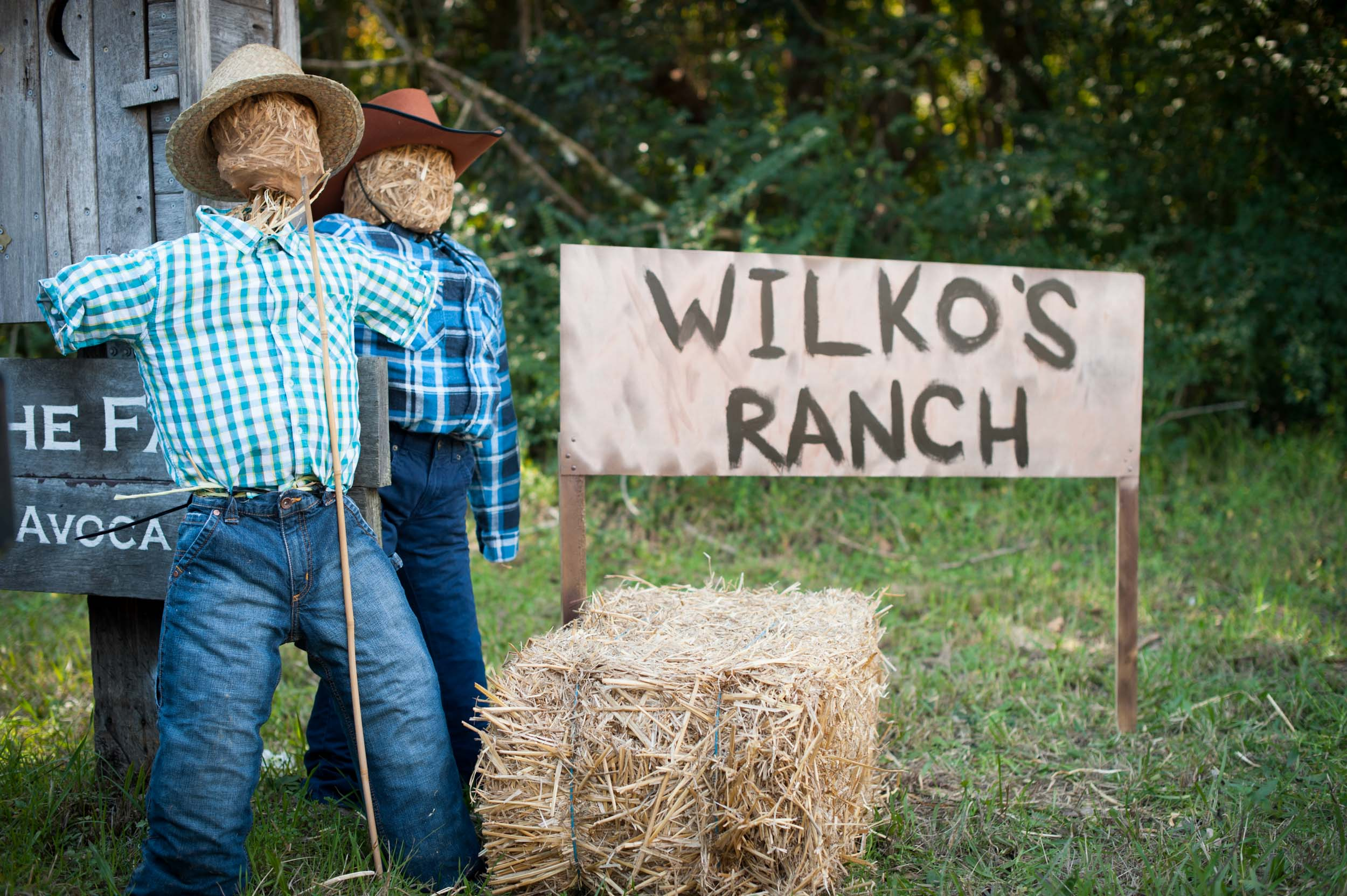 Scarecrows at the ranch Kincumber NSW