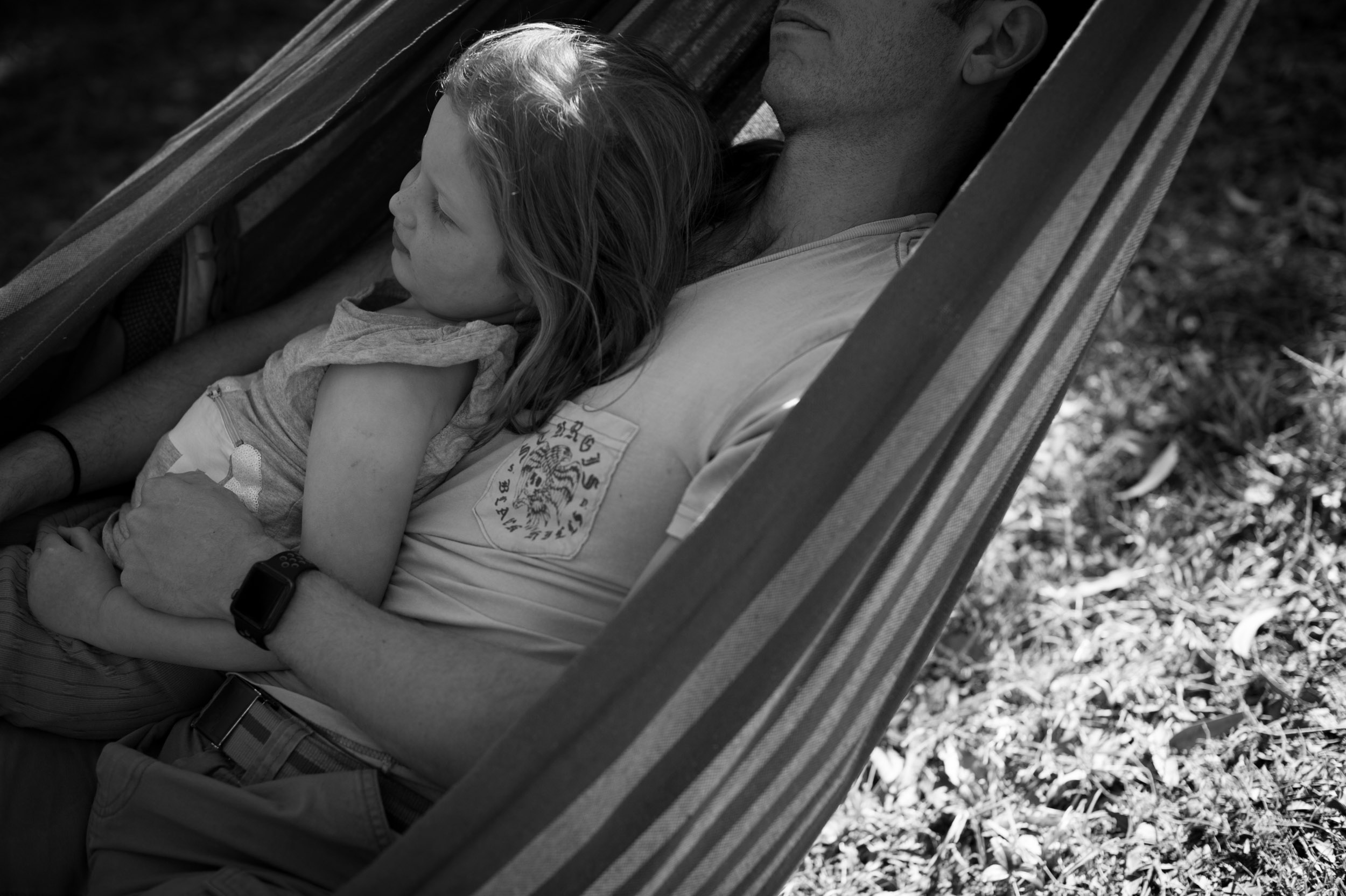 hammock with dad lifestyle photography central coast