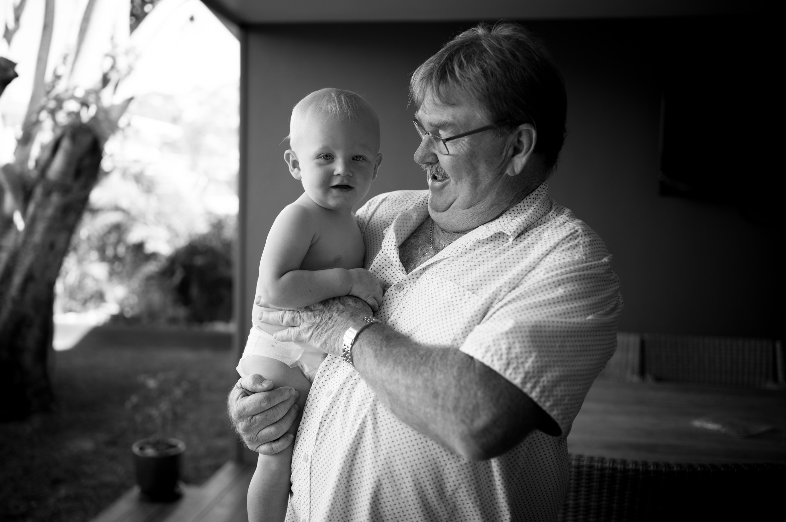 grandfather and grandson baby photography central coast