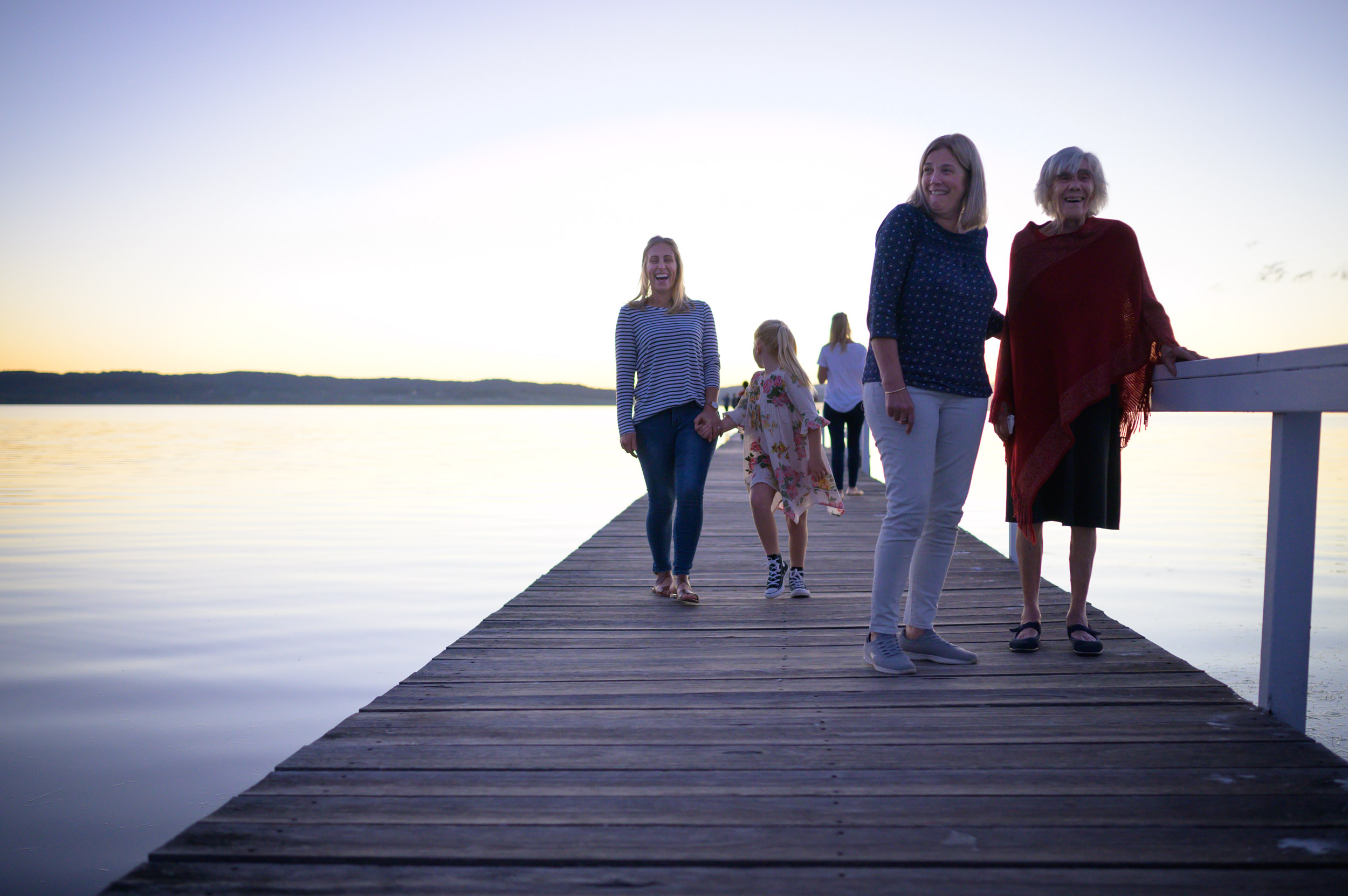 extended family photography long jetty nsw