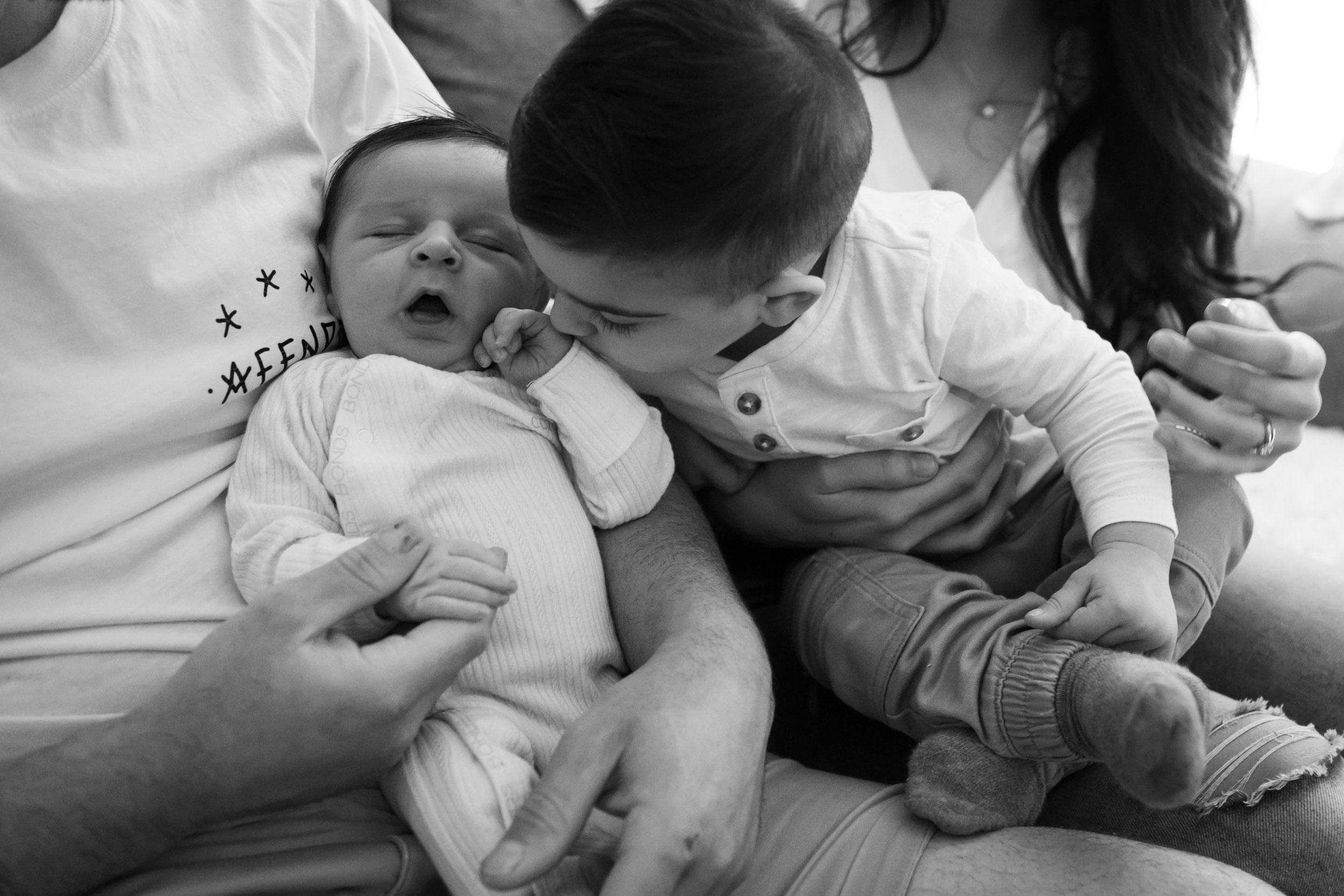 kisses for baby brother