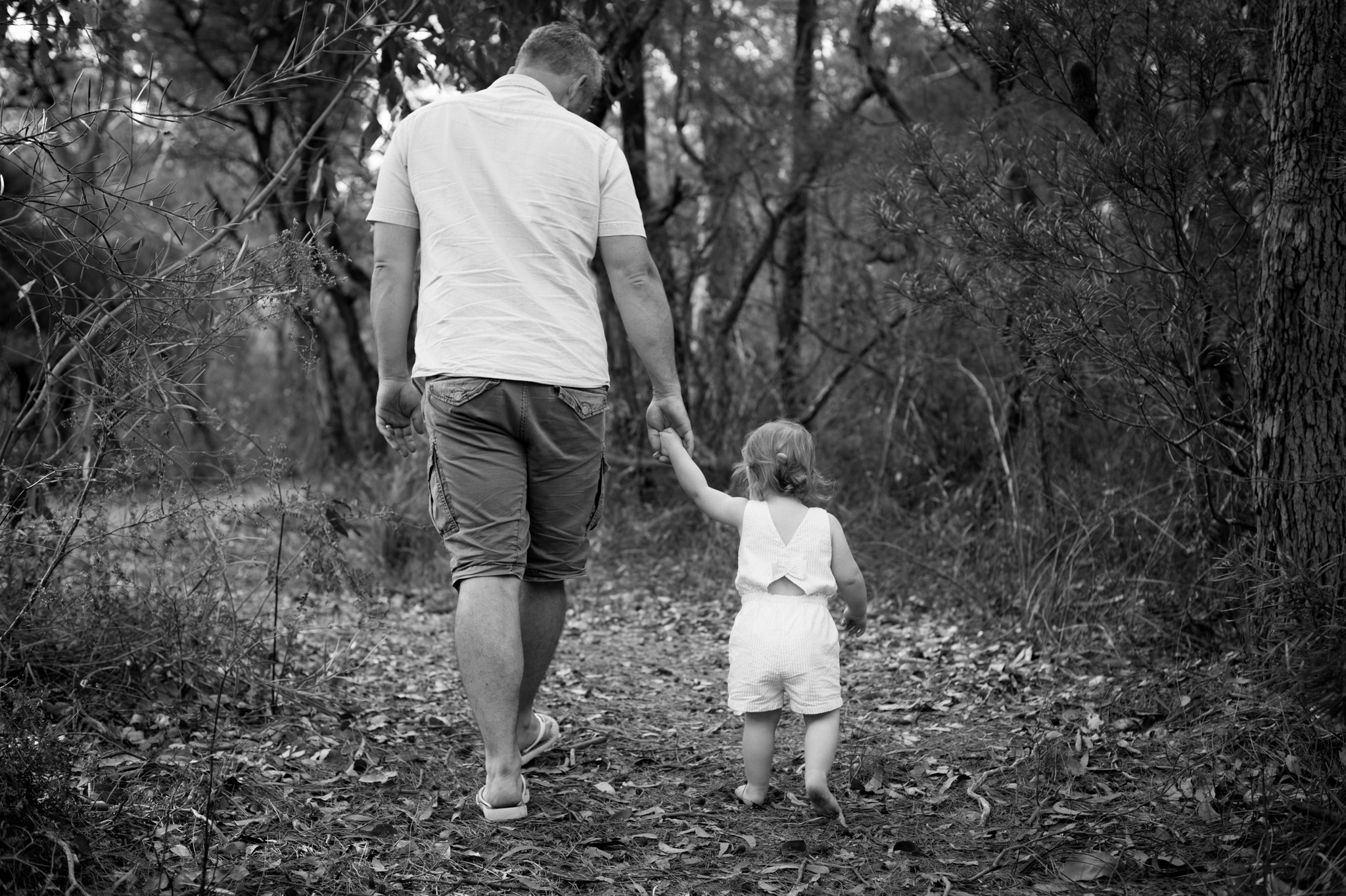 bushwalk with daddy