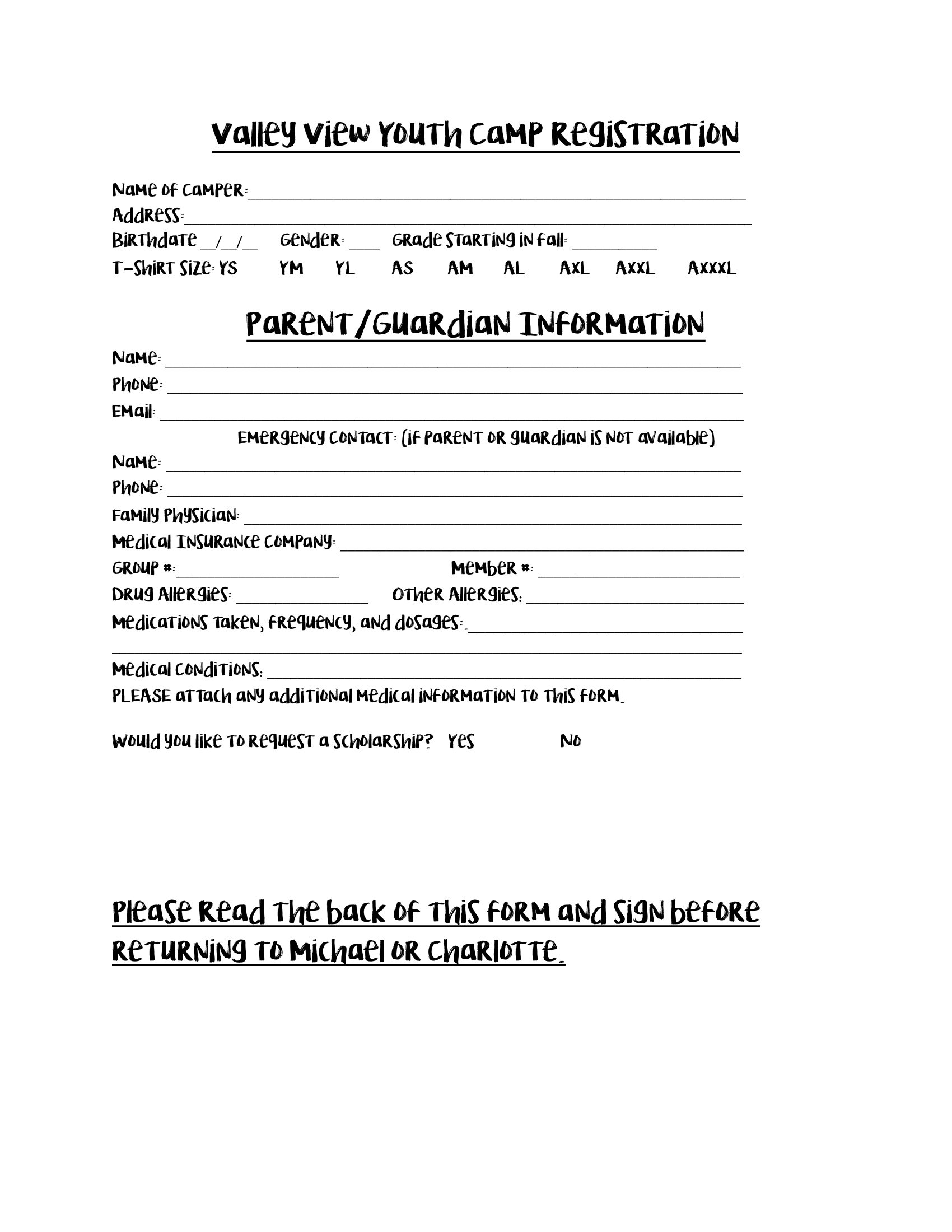 Print this off and fill it out and mail to 4500 Southwest Dr Jonesboro, AR 72404.