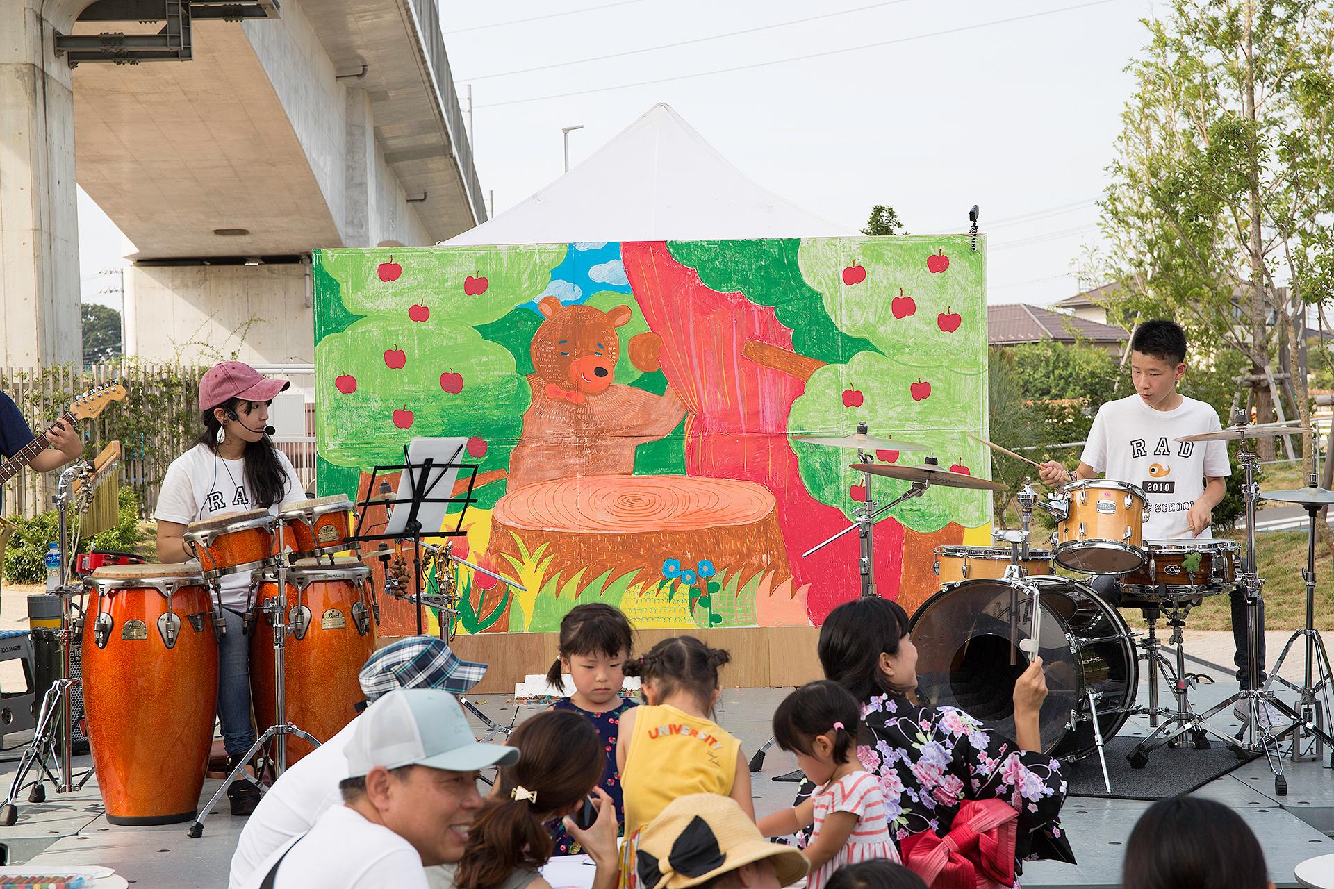 千葉県・柏市にて   アートワークショップ