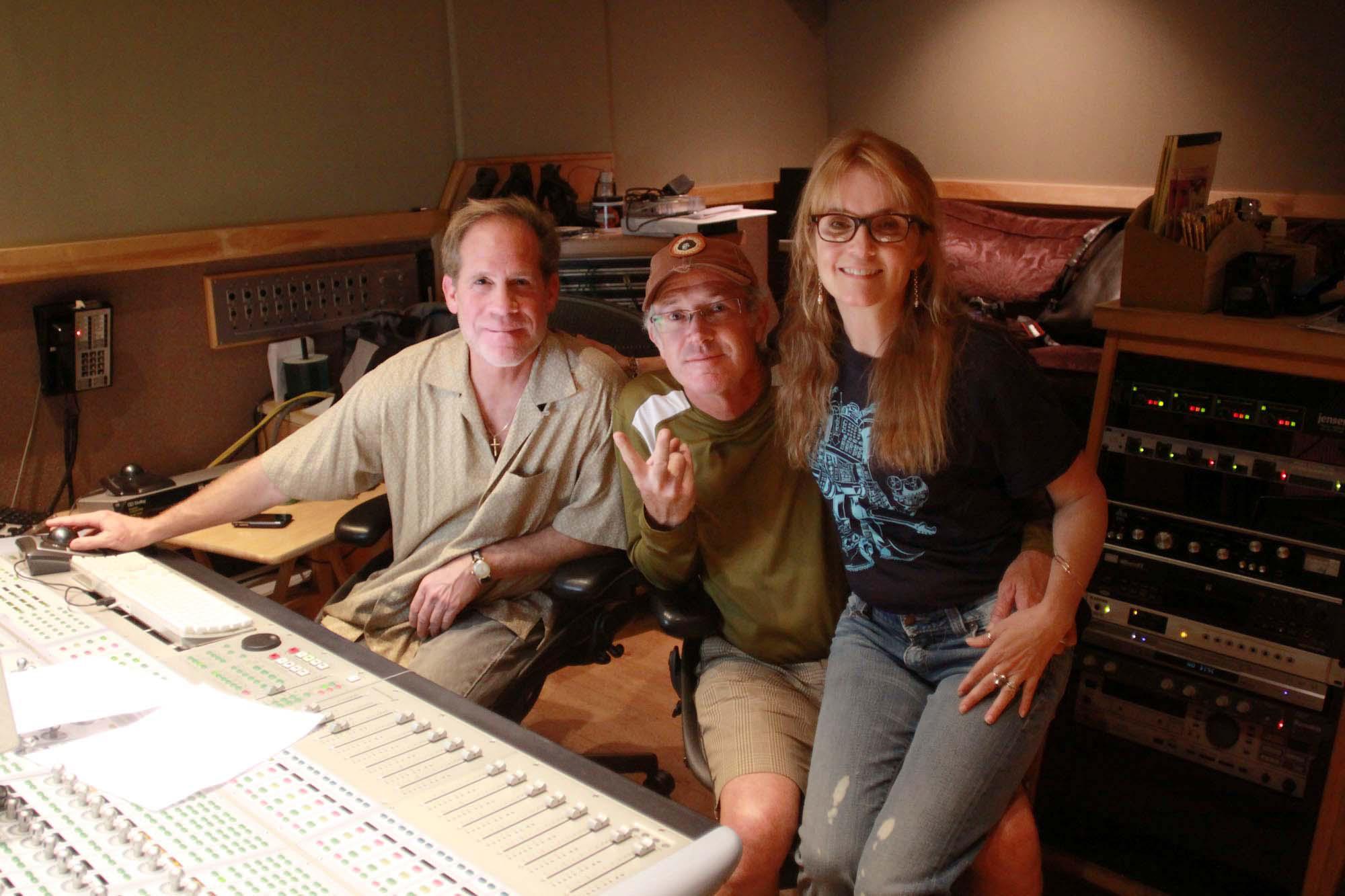 LAでレコーディングしてくださったのリー・トンプソンさん  Lea Thompson recording in LA