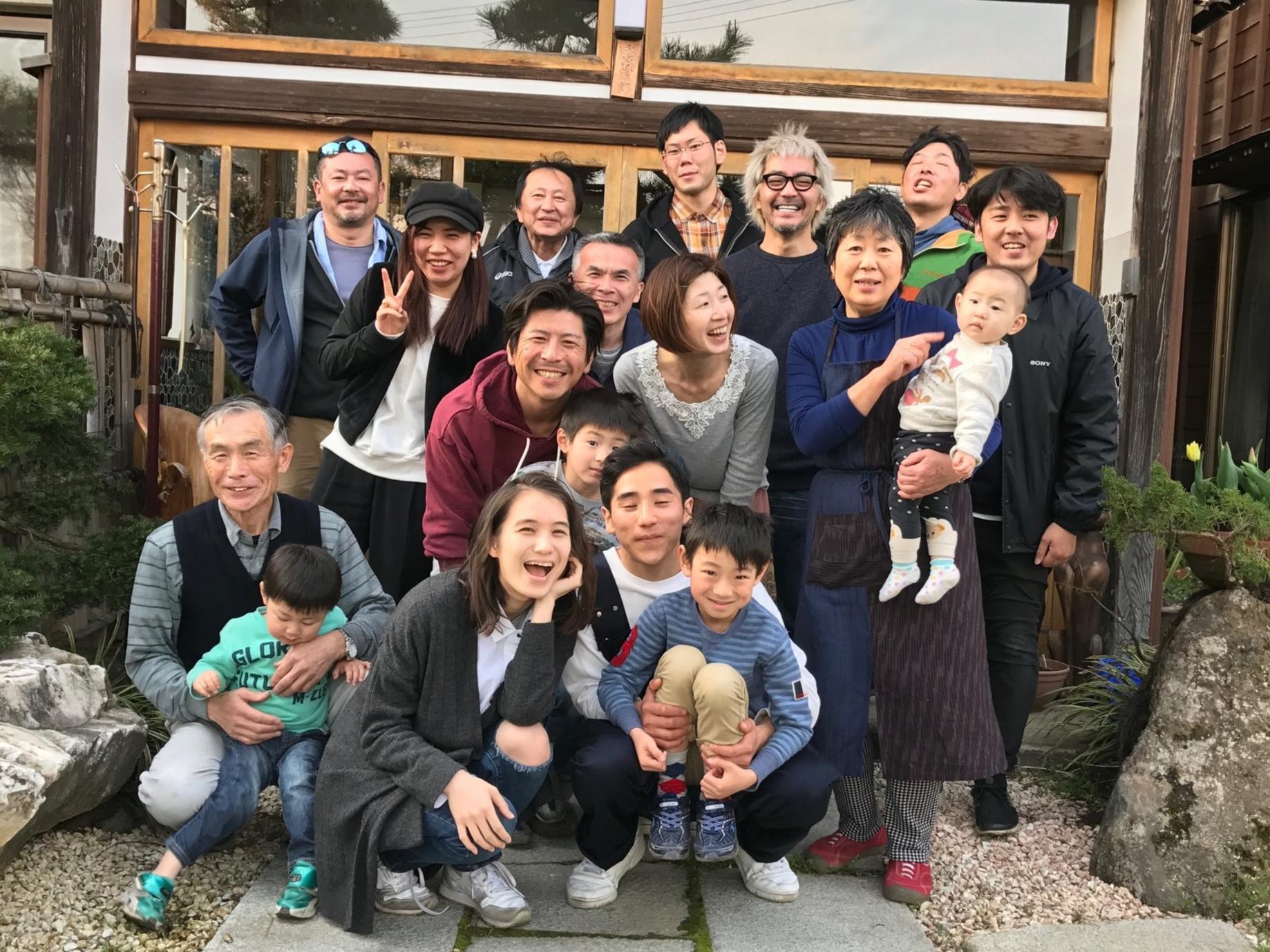 地元西蒲区のたくさんの方々が協力  Many Nishikan locals participated