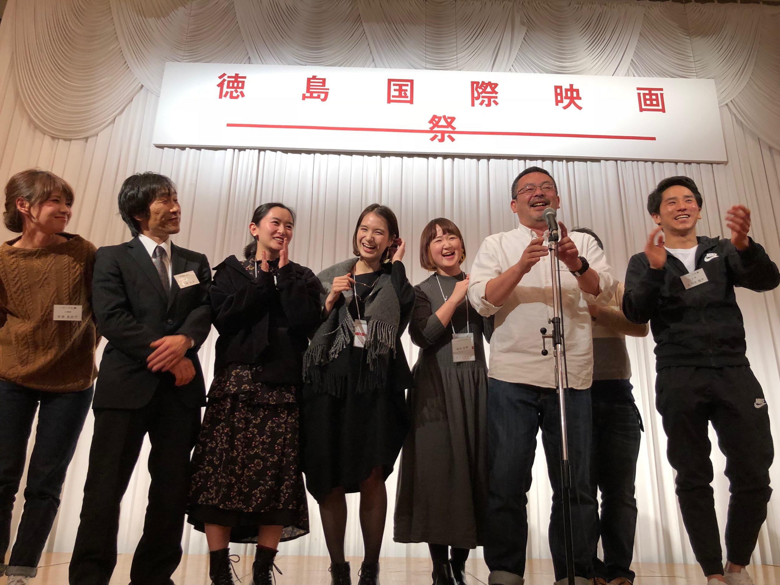 徳島で開催された徳島国際映画祭ではオープニング上映作品として選出された  Screened as an opening at Tokushima International Film Festival