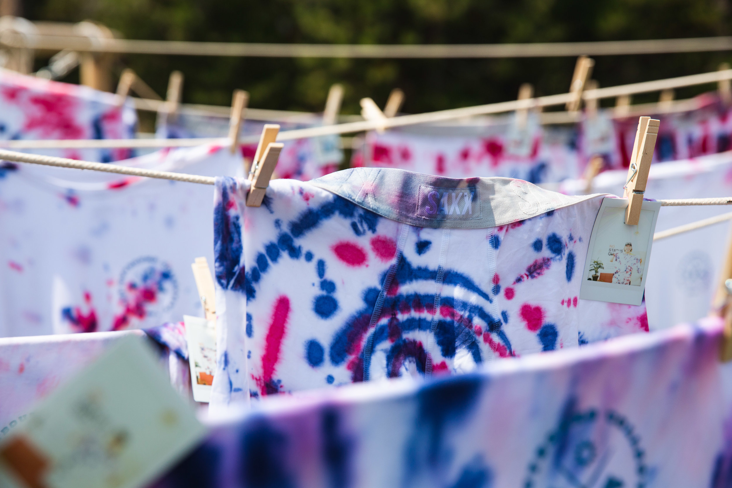 Tie Dyeing -