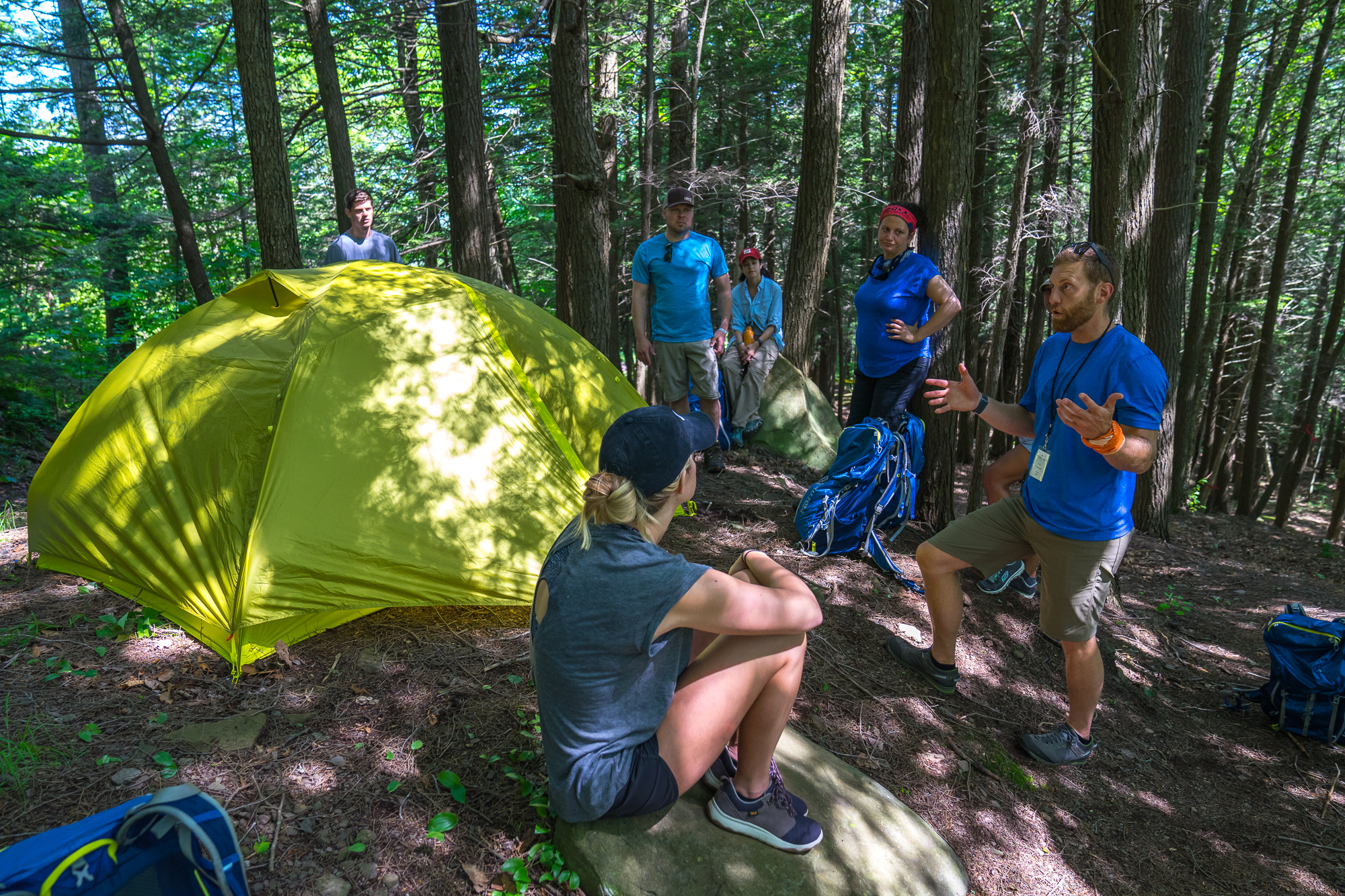 Setting Up Camp -