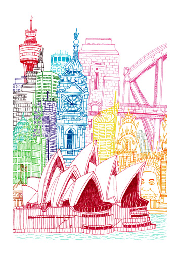 Sydney Towers (Copyrighted)