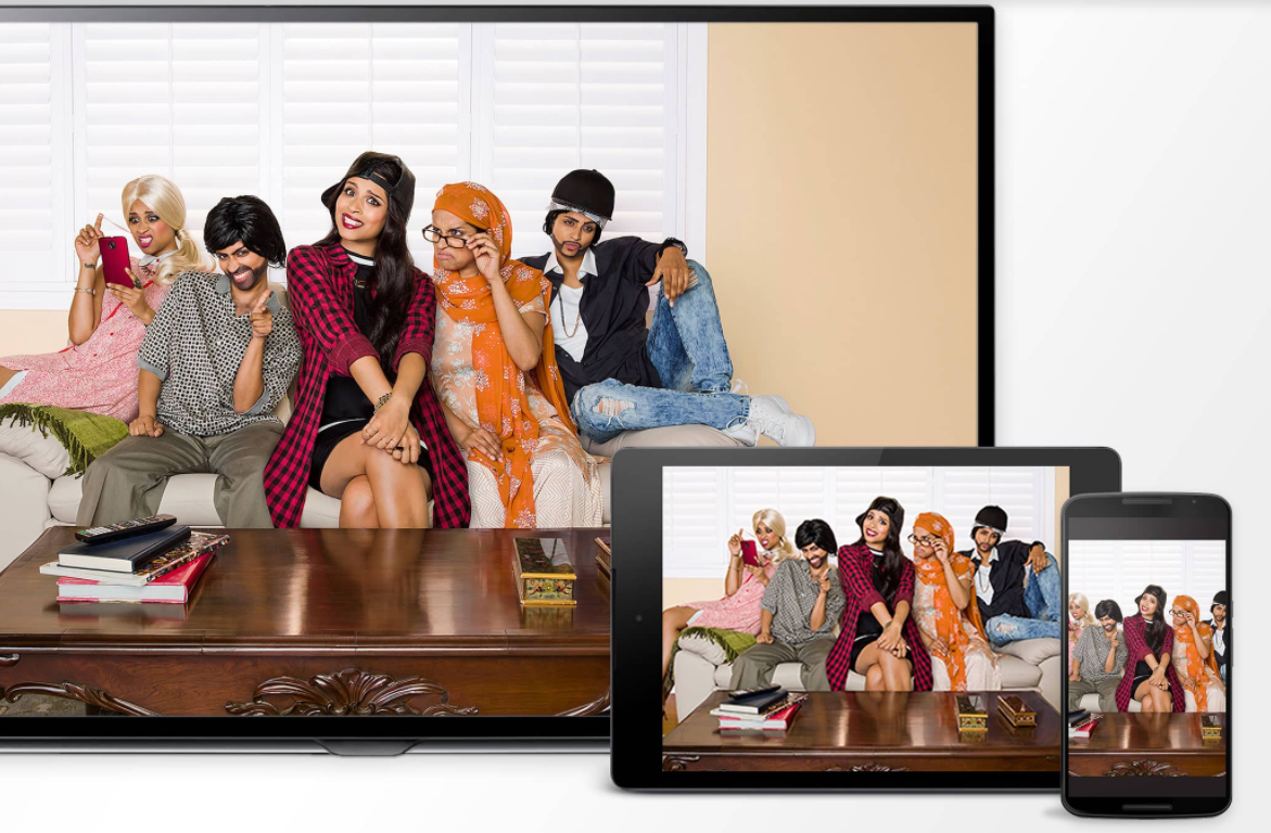 Mirror or cast Android devices to the big screen. Image source:  Google .