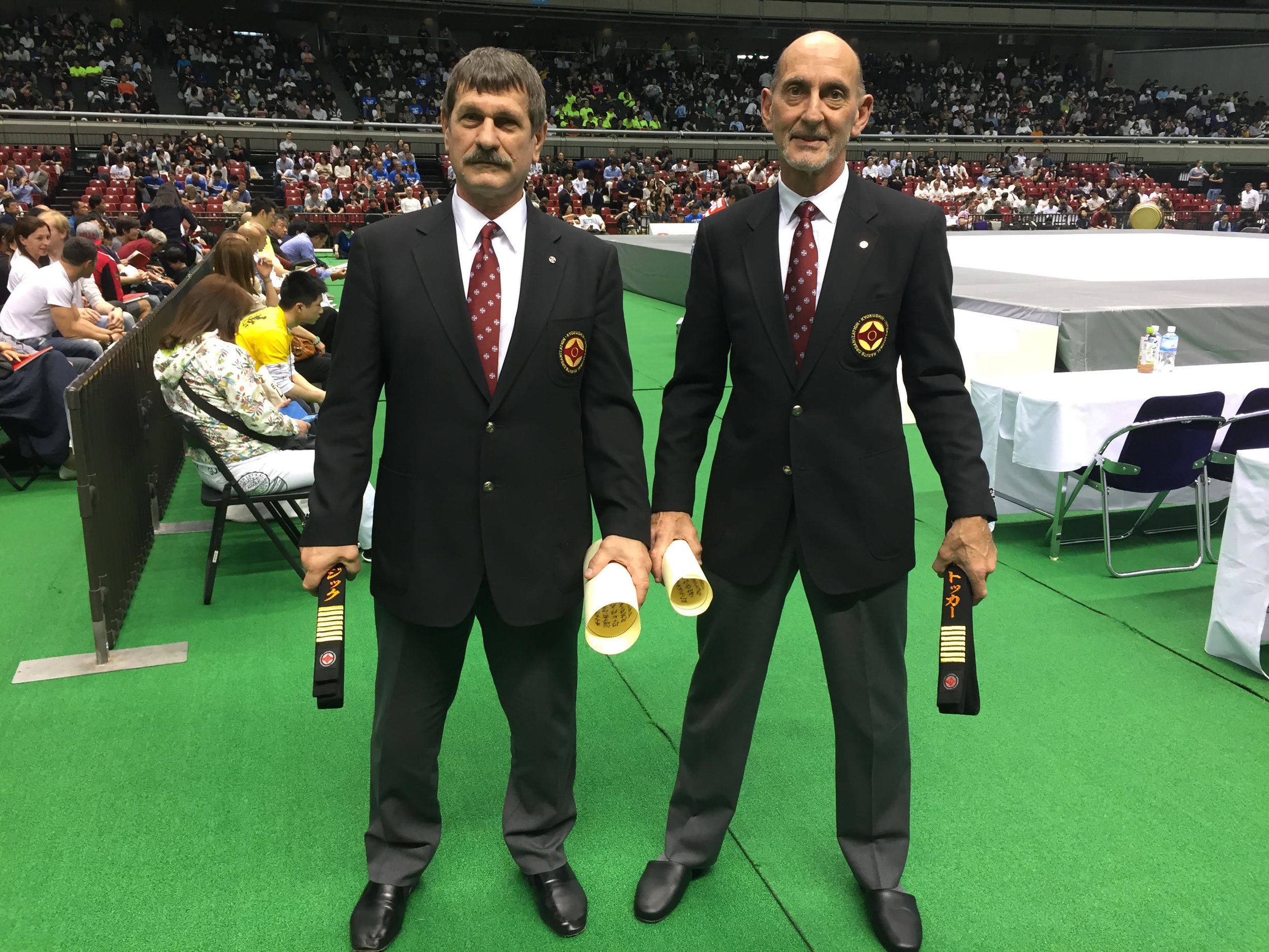 Shihan Trevor Tockar Awarded 7th Dan -