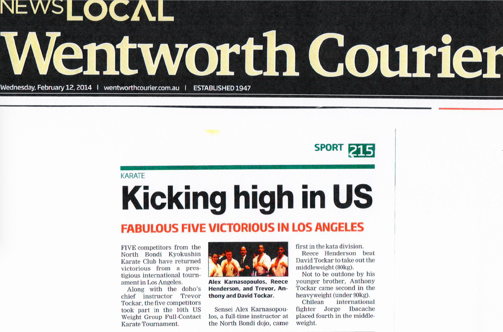 Read Wentworth Courier