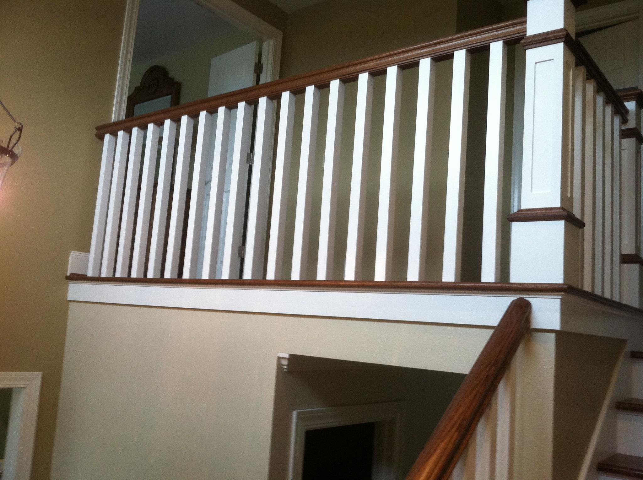 Stairs case and Banisters