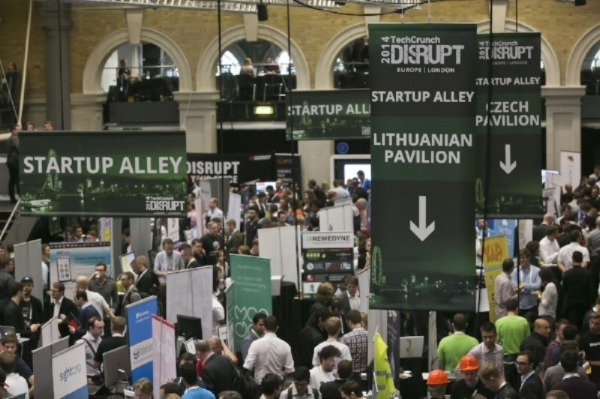 International Pavilion at TechCrunch Disrupt