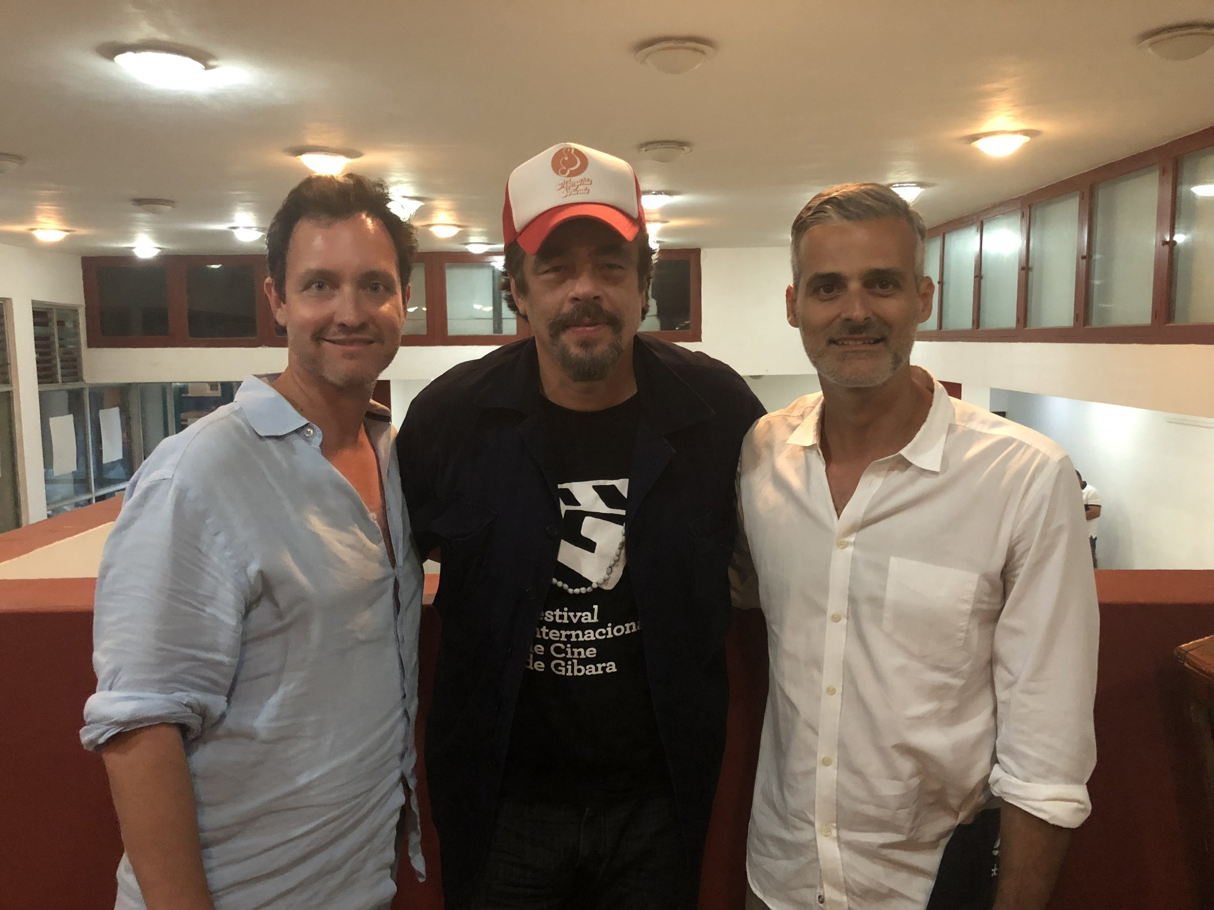 Benicio del Toro was once again the guest of honor at the festival.