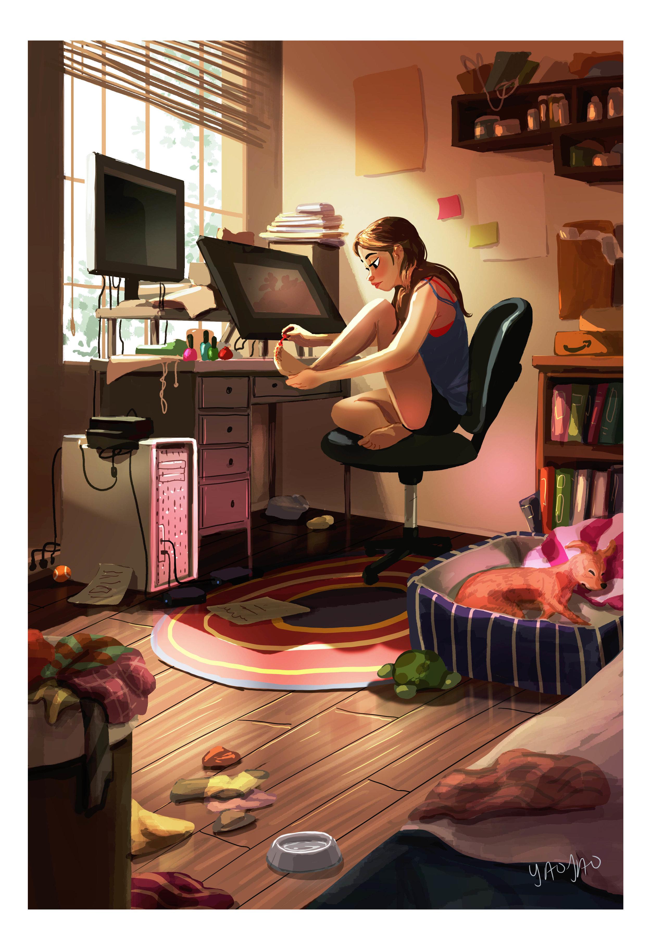 Full Time Procrastinator (I)