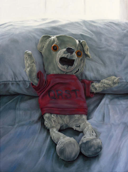 "the bear  oil on canvas  |  18"" x 24""  