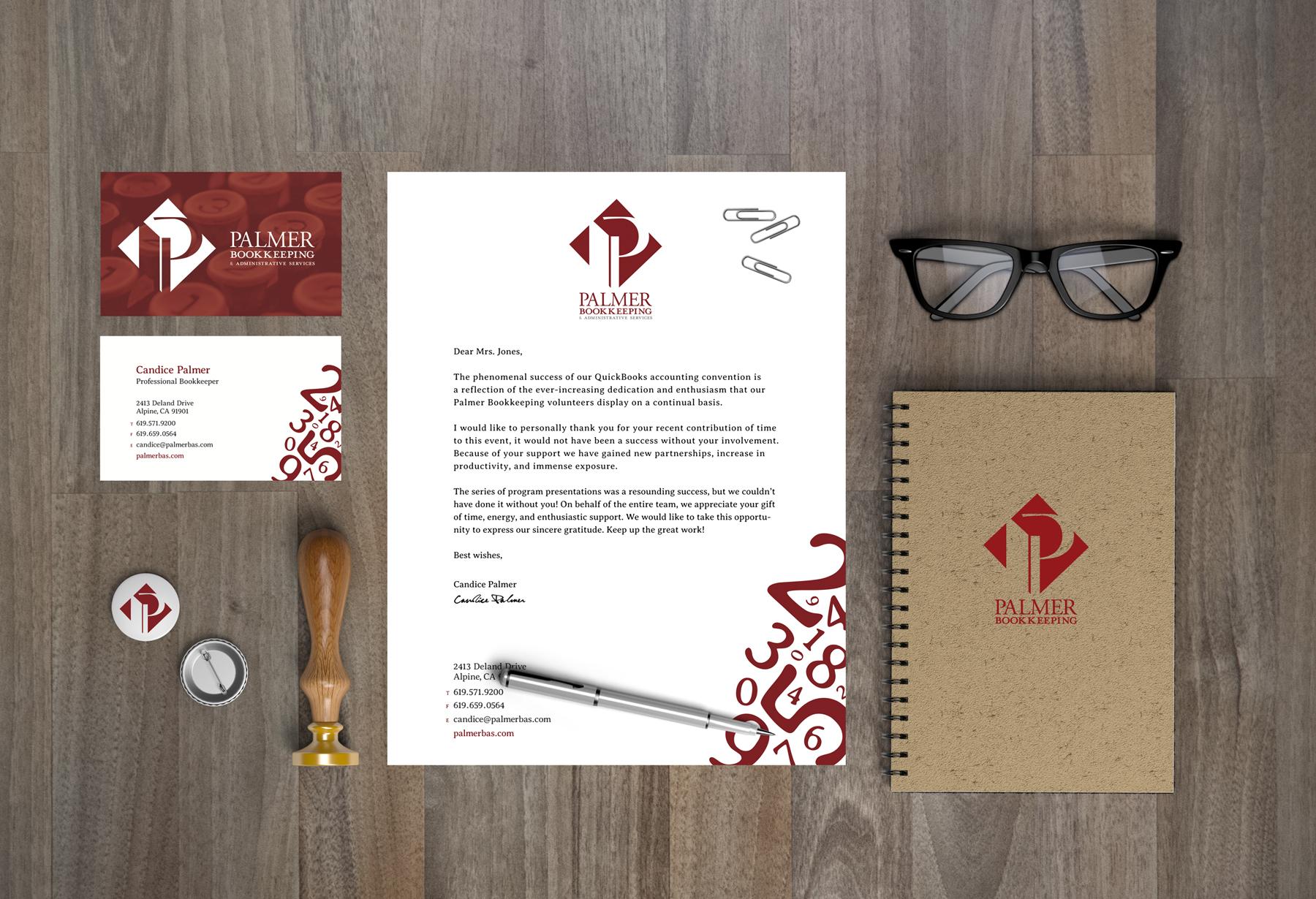 Stationery System + Logo Design