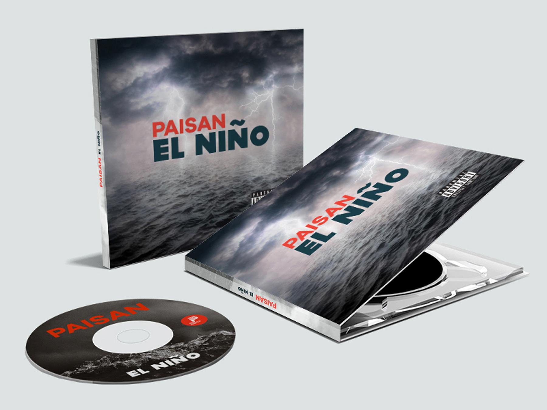 Paisan - El Niño  Album Cover + Disc Design