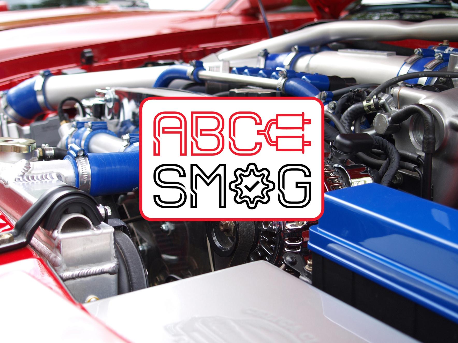 ABC Smog Logo on Stock Image Promo