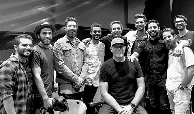 """Some of the crew from last night's """"Hope for Swaziland"""" benefit concert. A huge thanks to everyone who made this event possible, and to everyone who donated to this cause!"""