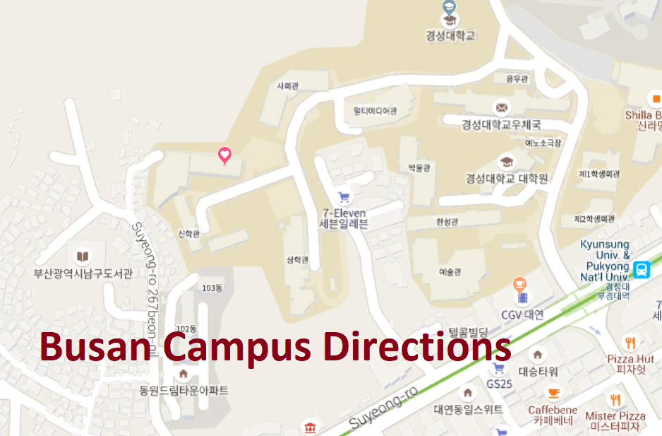 Busan Campus Directions