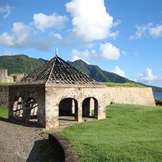 BASSE-TERRE   Fort   Louis Delgres