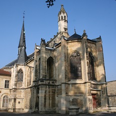 DIJON   Chapelle de la Chartreuse de Champmol