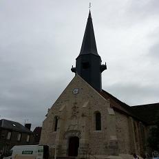SAINT-REMY-SUR-AVRE   Eglise Saint-Rémy