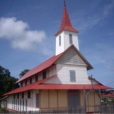 IRACOUBO   Eglise   Saint-Joseph et presbytère