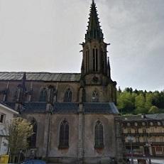 PLOMBIERES-LES-BAINS   Eglise Saint-Amé