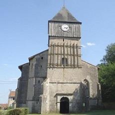 GEVILLE   Eglise de Gironville-sous-les-cotes