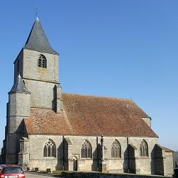 BREUVANNES-EN-BASSIGNY   Eglise Saint-Martin de Colombey-Lès-Choiseul
