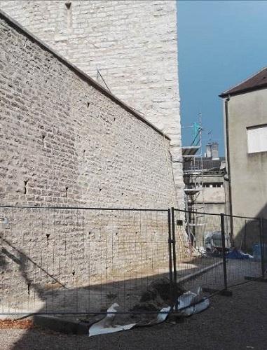 Mur de soutènement après travaux