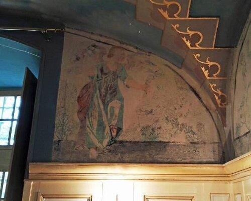 Décors peints après restauration