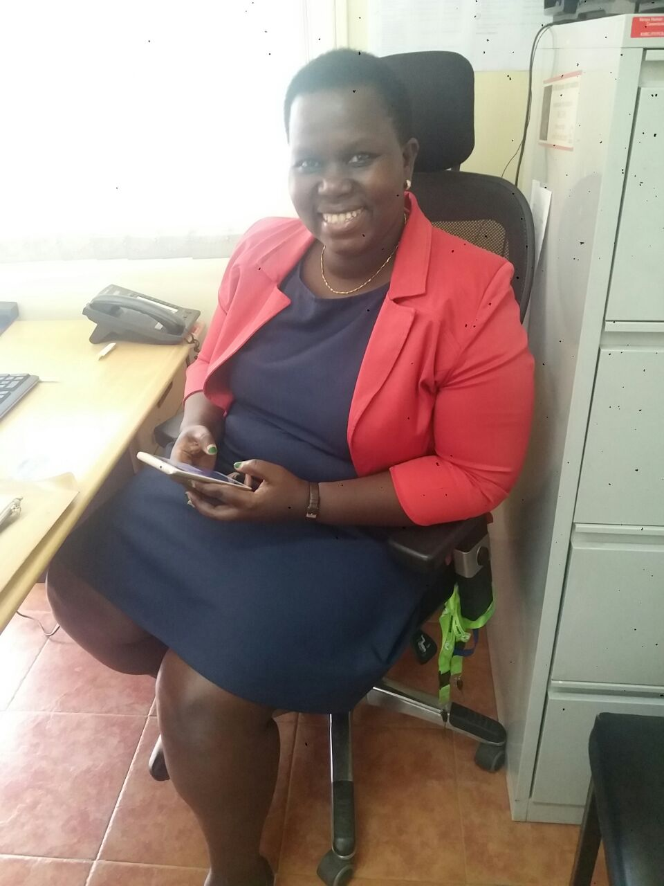 Mary sending us all updates from the Kenya Human Rights Commission