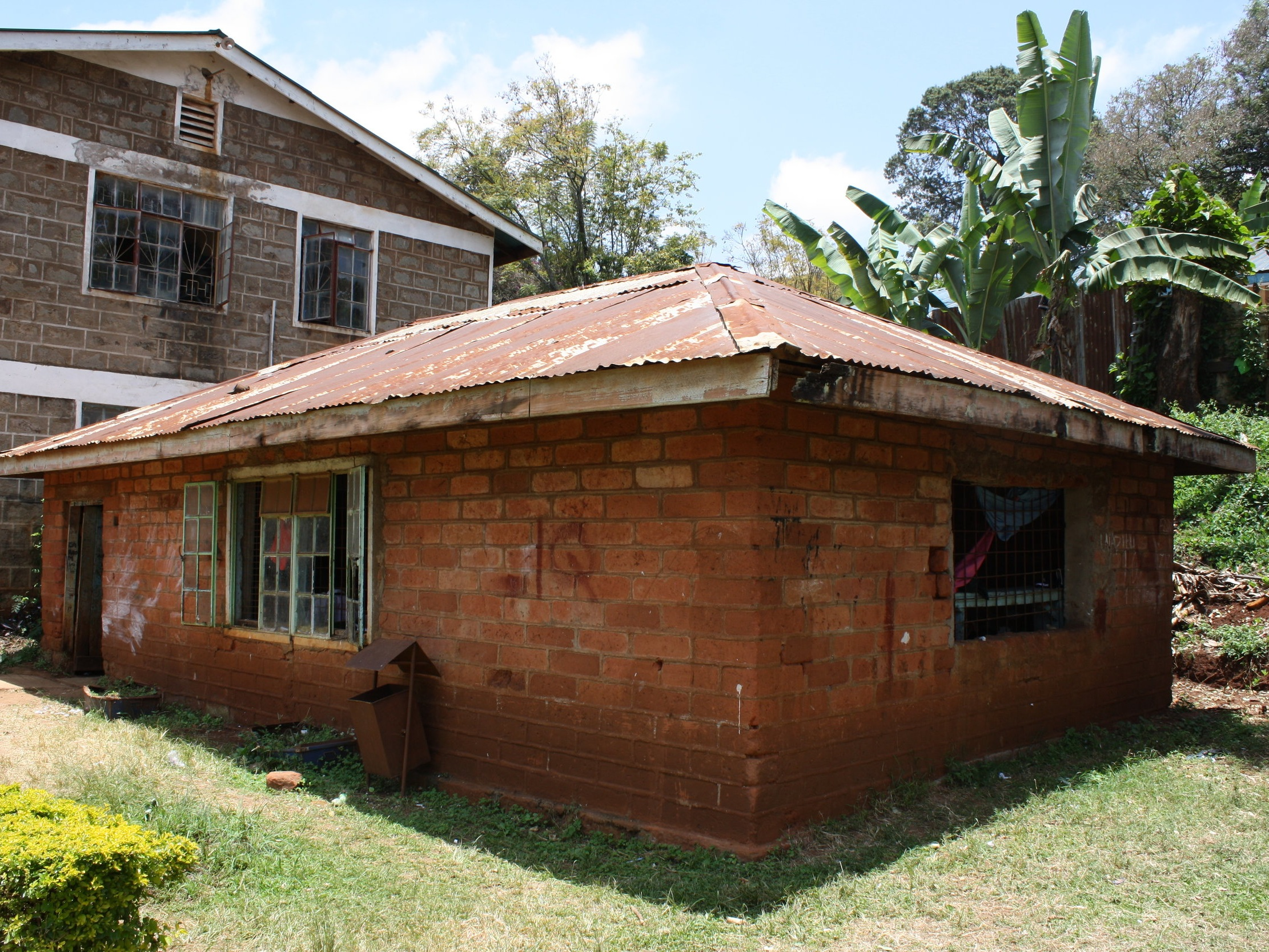 Former cell at Mweru as it appears today