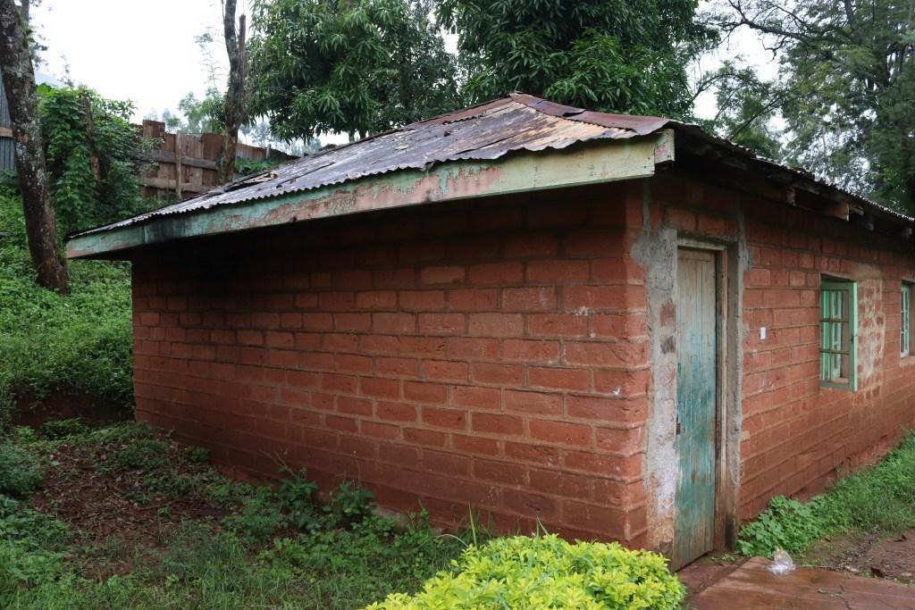 Former cell at Mweru High School