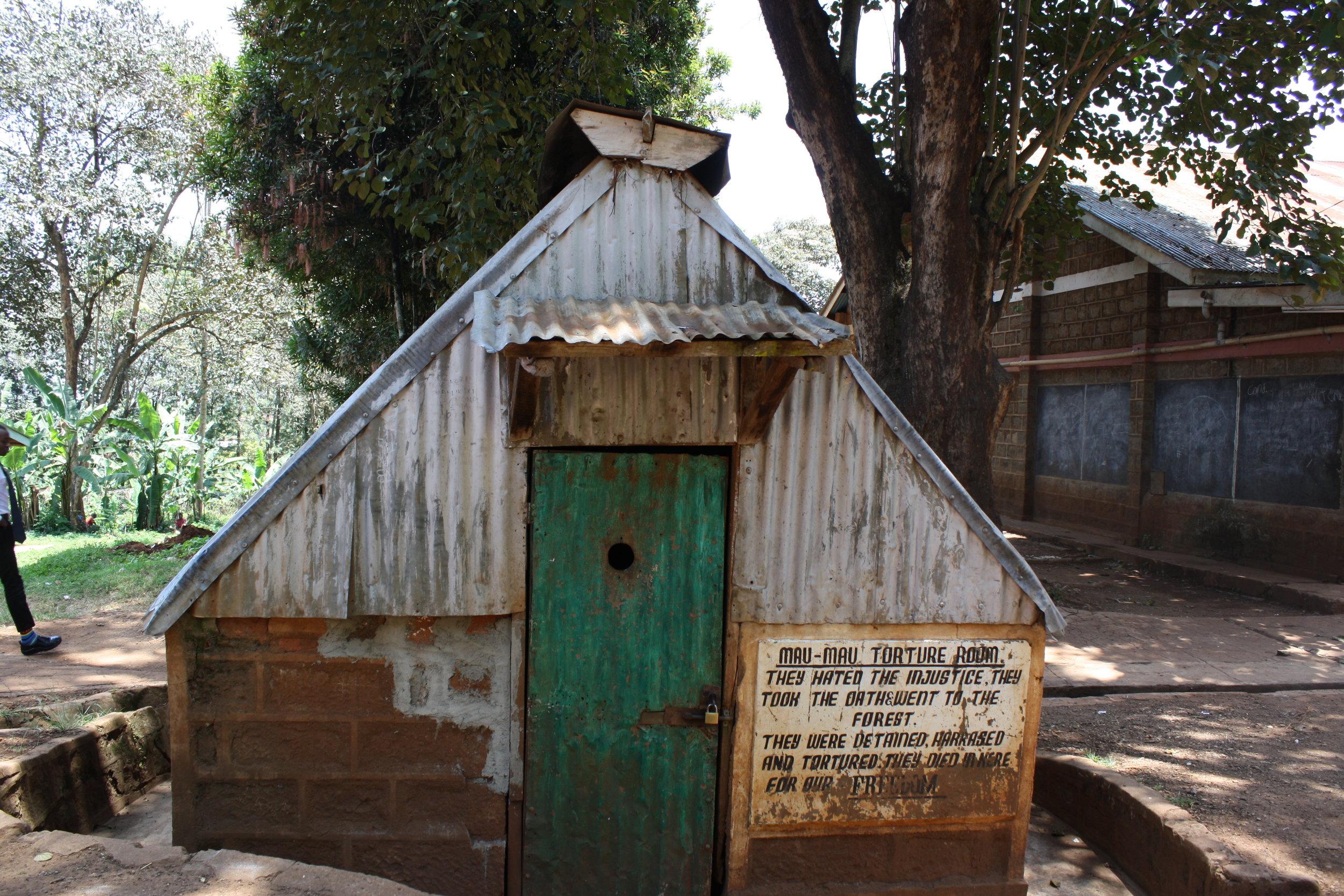 Present day structure at Mweru