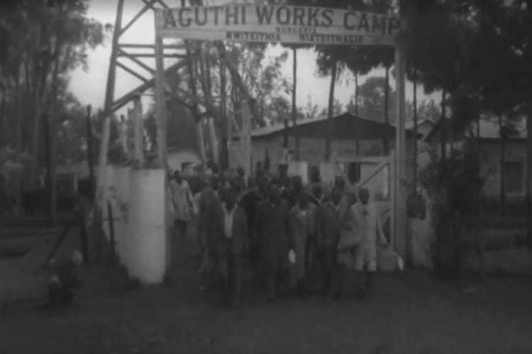 Aguthi Works Camp in 1959. Source: British Pathé.