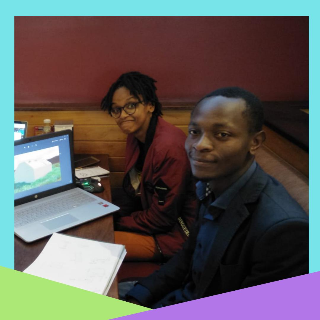 Grace Sampao and Mike Wanjala