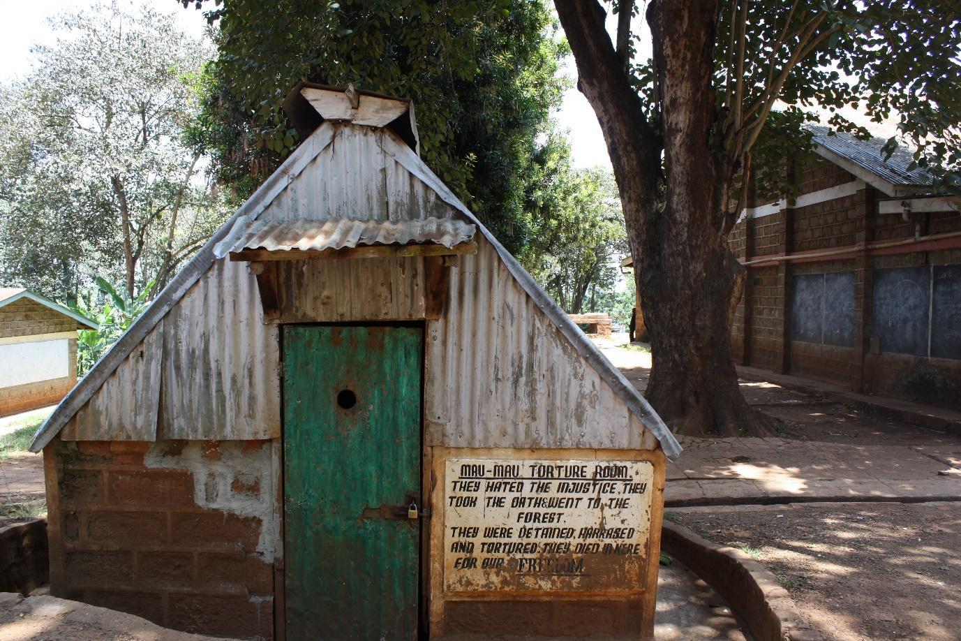 Figure 6: Former torture chamber Mweru camp as it appears in present day Mweru High School