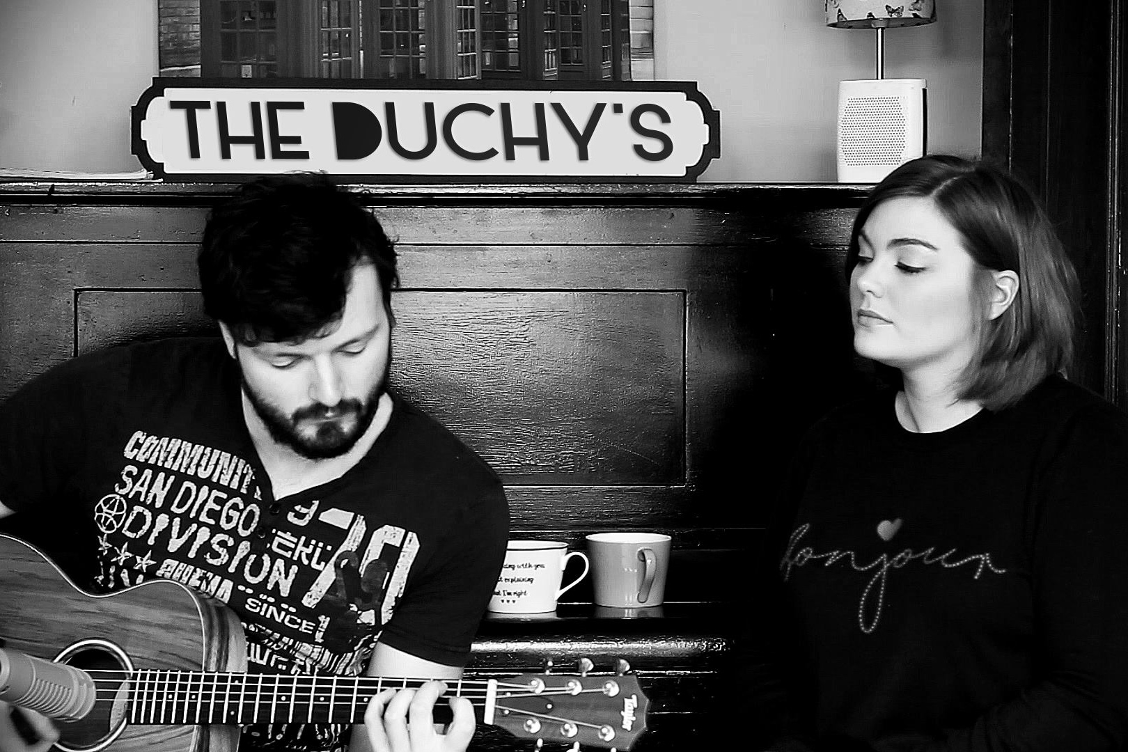 The Duchy's - An acoustic duet you're bound to love. From Aretha Franklin to Eva Cassidy, The Duchy's array of chilled-out covers offer a perfect atmosphere for you and your wedding guests.
